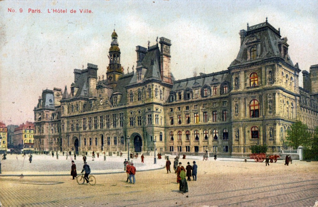 L 39 h tel de ville paris 1900 for Carte hotel france