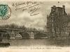 Le pont Royal et le Ministère des Colonies.