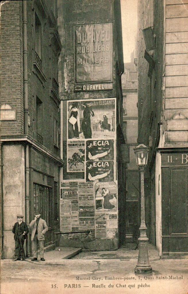 La plus petite rue de Paris.