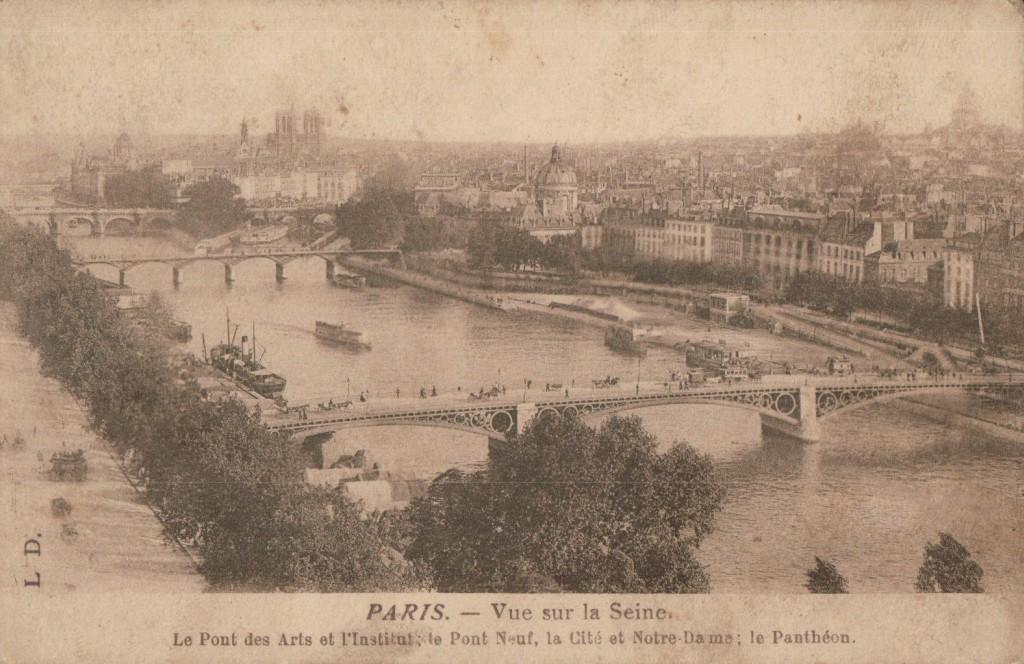 Paris - Vue sur la Seine-Ile de la Cité.