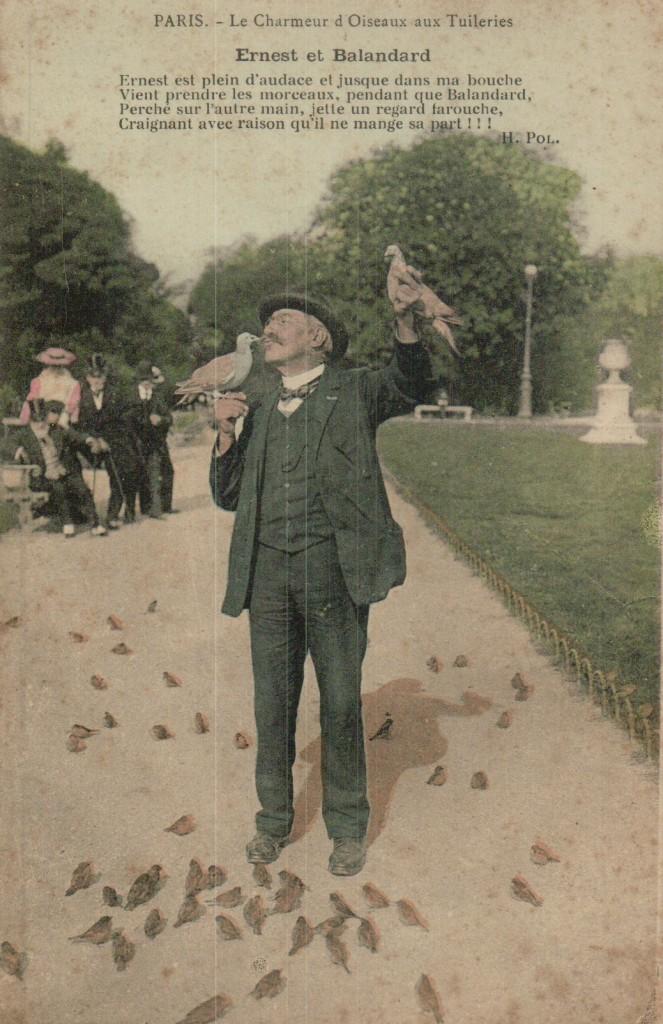 Le charmeur d'oiseaux - Ernest et Balandard.