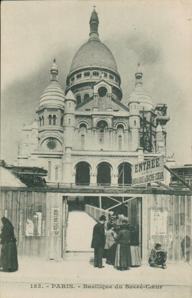 La basilique du Sacré-Coeur de Montmartre.