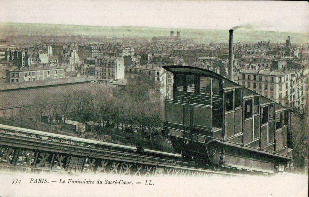 Le funiculaire de Montmartre - Une voiture