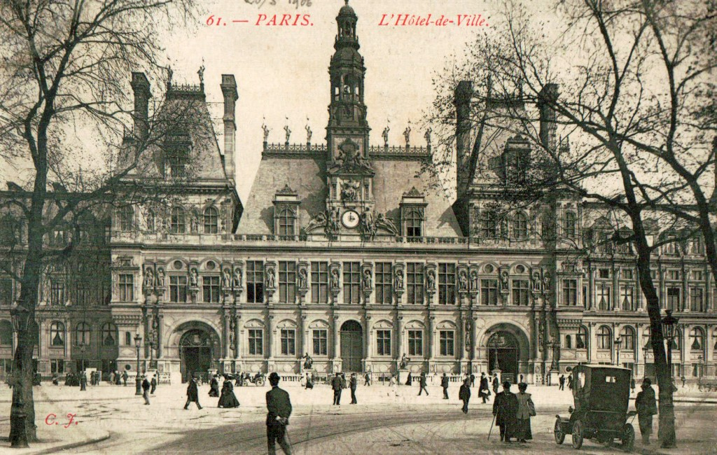 Hotel De Ville Paris Exposition