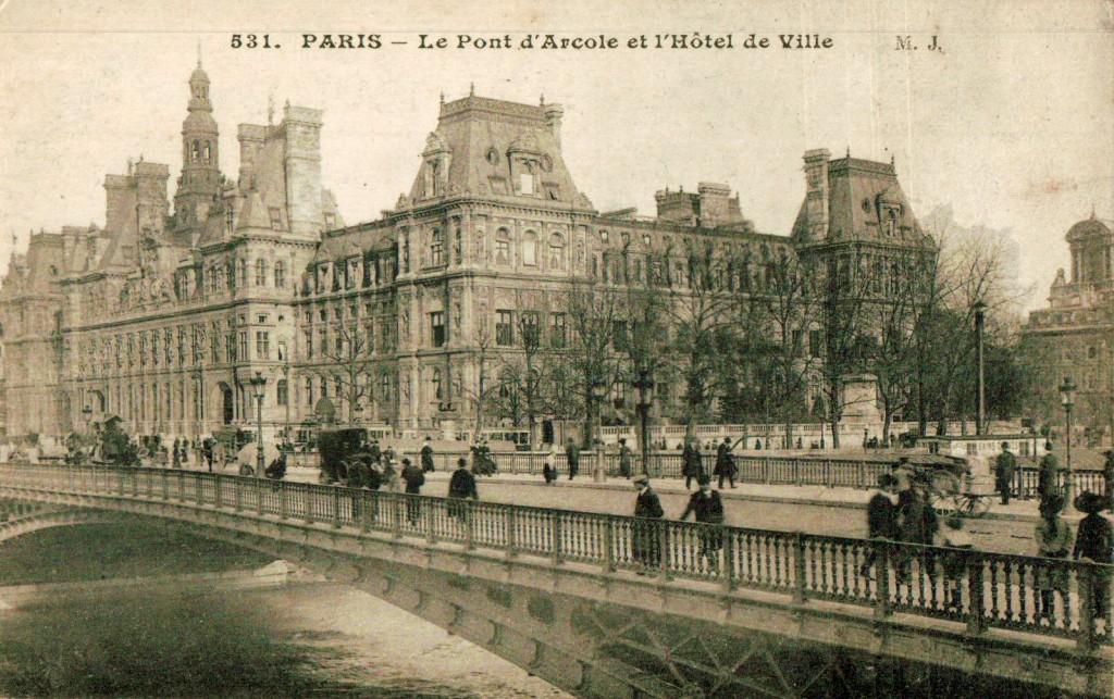 Hôtel de ville et Pont d Arcole