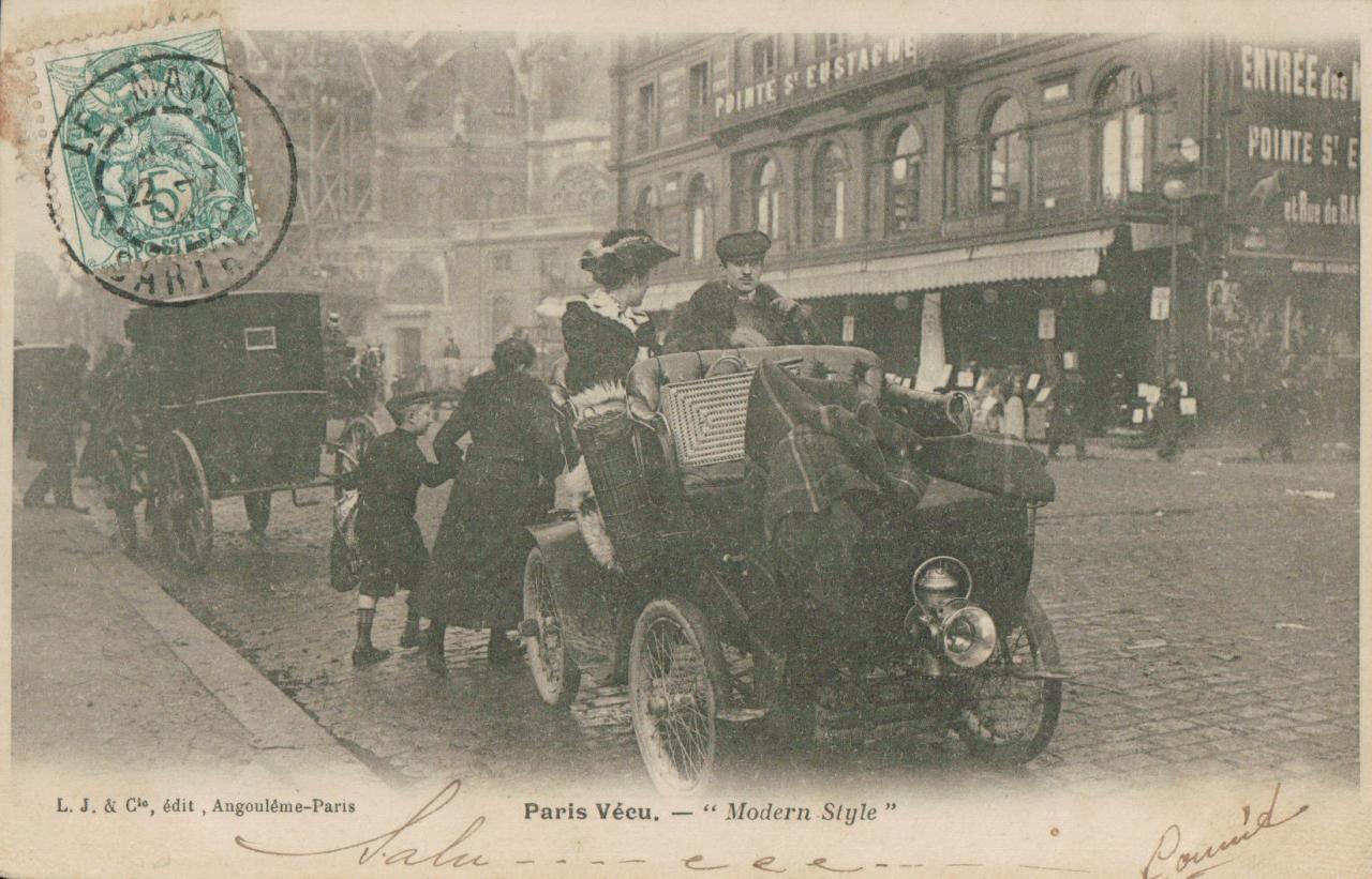Paris vécu - modern style.